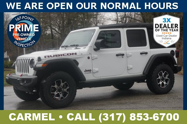 Used 2018 Jeep Wrangler Unlimited in Indianapolis, IN