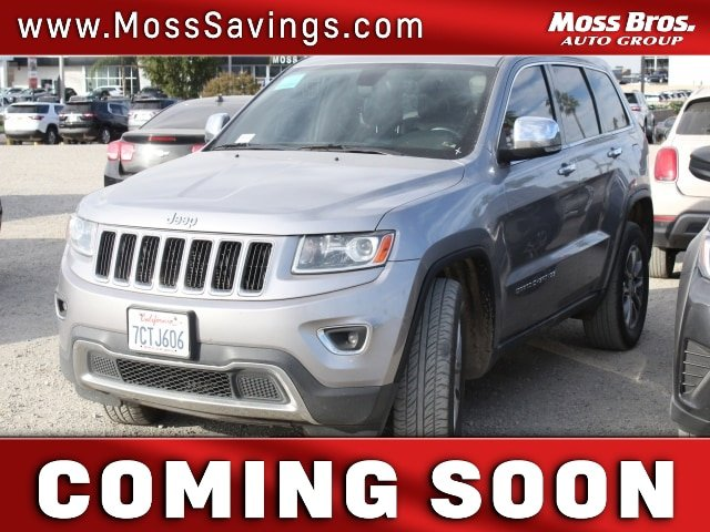 2014 Jeep Grand Cherokee Limited 4WD 4dr Limited Regular Unleaded V-6 3.6 L/220 [0]