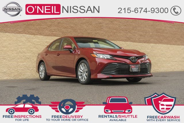 2018 Toyota Camry L L Auto Regular Unleaded I-4 2.5 L/152 [0]