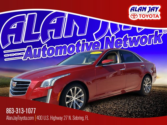 Used 2016 Cadillac CTS Sedan in Sebring, FL
