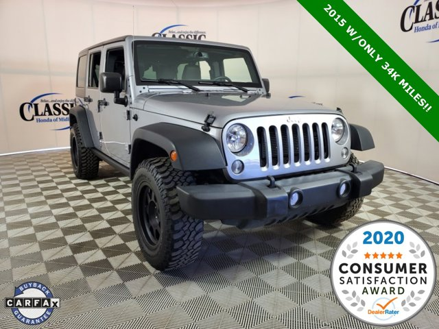 Used 2015 Jeep Wrangler Unlimited in Midland, TX