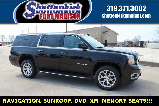 Used 2017 GMC Yukon XL in Fort Madison, IA