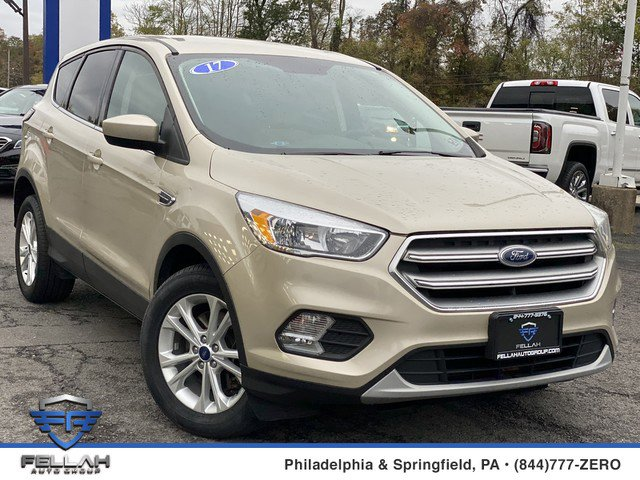 2017 Ford Escape SE Turbocharged Four Wheel Drive Power Steering ABS 4-Wheel Disc Brakes Brake