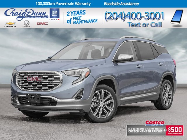 2020 GMC Terrain * DENALI AWD * SUNROOF * NAVIGATION * AWD 4dr Denali Turbocharged Gas/E15 I4 2.0L/122 [0]