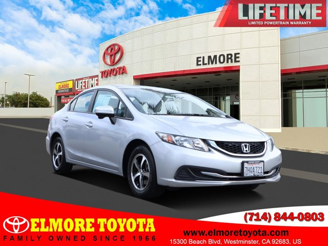 2015 Honda Civic Sedan SE 4dr CVT SE Regular Unleaded I-4 1.8 L/110 [0]