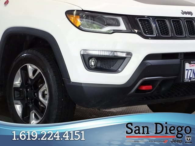 Used 2017 Jeep Compass Trailhawk 4x4