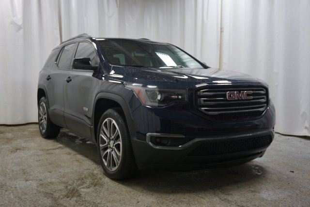 2017 GMC Acadia SLT ADVANCED ALL-WHEEL DRIVE SYSTEM DARK SAPPHIRE BLUE METALLIC TRANSMISSION  6-S