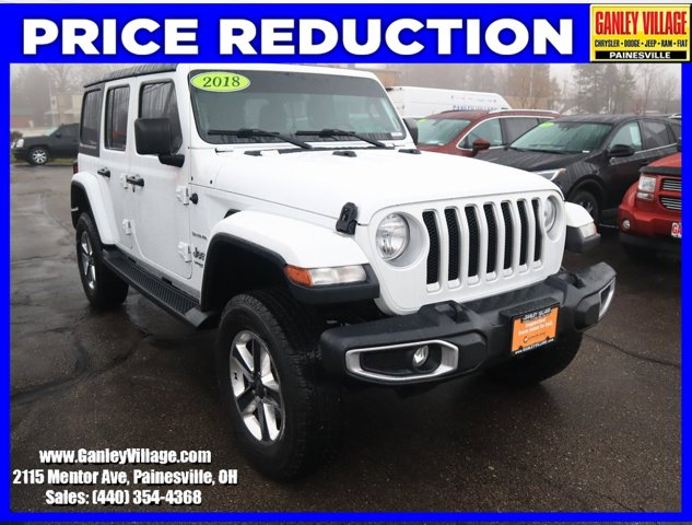 Used 2018 Jeep Wrangler Unlimited in Cleveland, OH