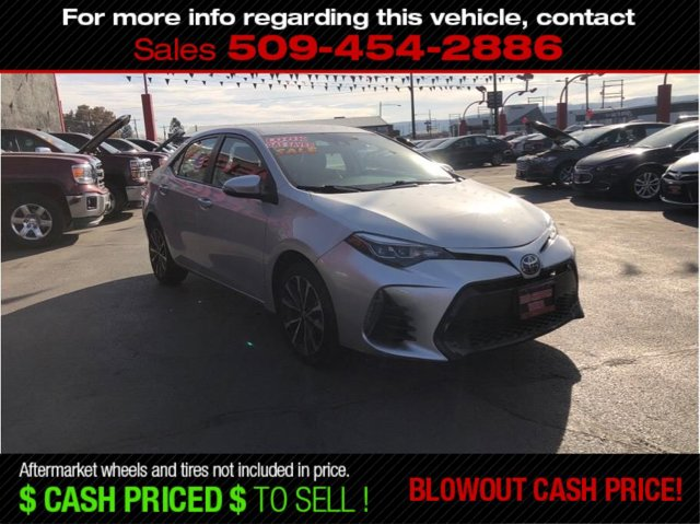 Used 2017 Toyota Corolla SE Sedan 4D