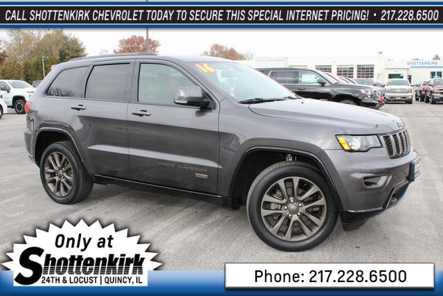 Used 2016 Jeep Grand Cherokee in Quincy, IL
