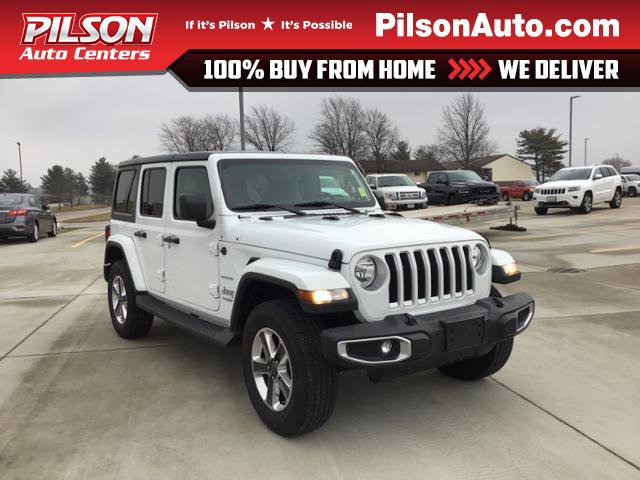 Used 2018 Jeep Wrangler Unlimited in Mattoon, IL