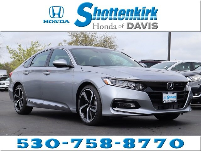 New 2020 Honda Accord Sedan in Davis, CA