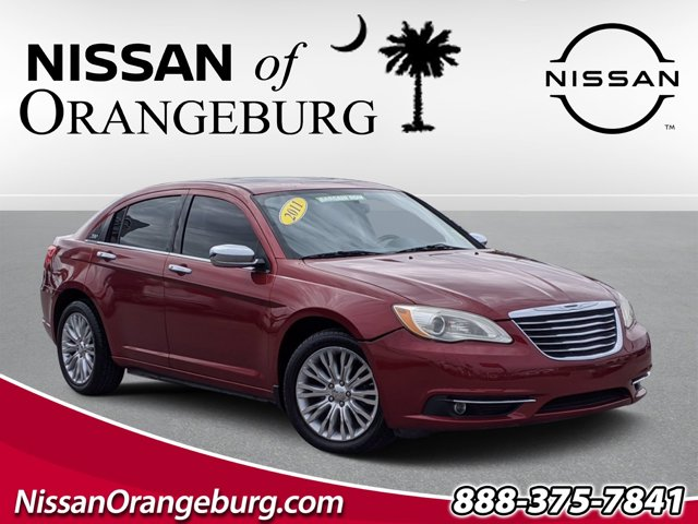 2011 Chrysler 200 Limited 4dr Sdn Limited Gas/Ethanol V6 3.6L/220 [3]