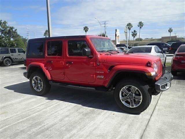 New 2019 Jeep Wrangler Unlimited in Vero Beach, FL