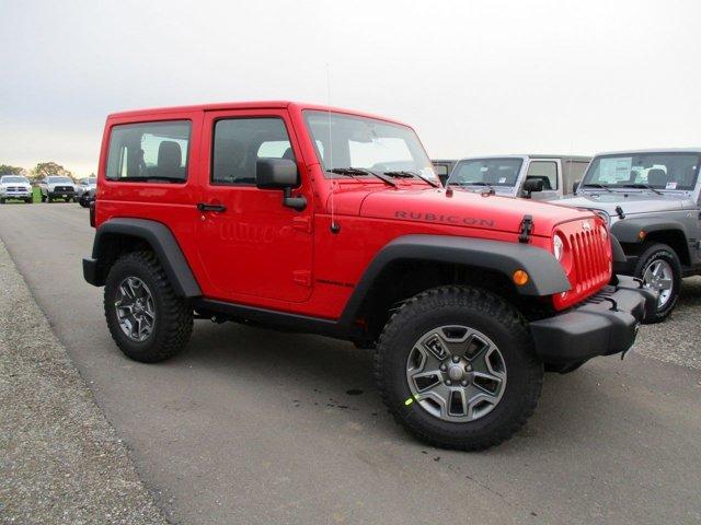 New 2017 Jeep Wrangler Rubicon 4x4