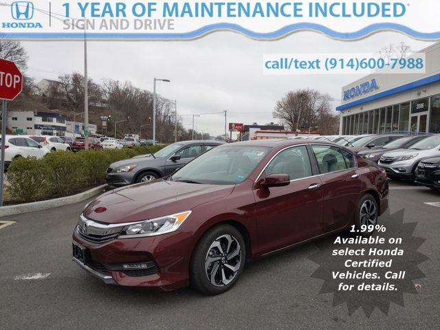 Used 2016 Honda Accord Sedan in Yonkers, NY