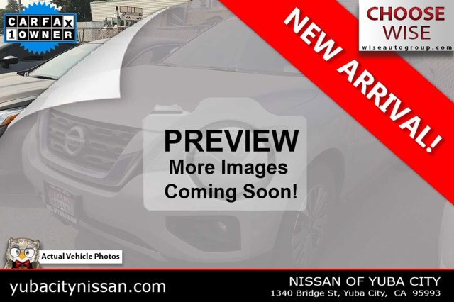 2019 Nissan Pathfinder SV 4x4 SV Regular Unleaded V-6 3.5 L/213 [1]