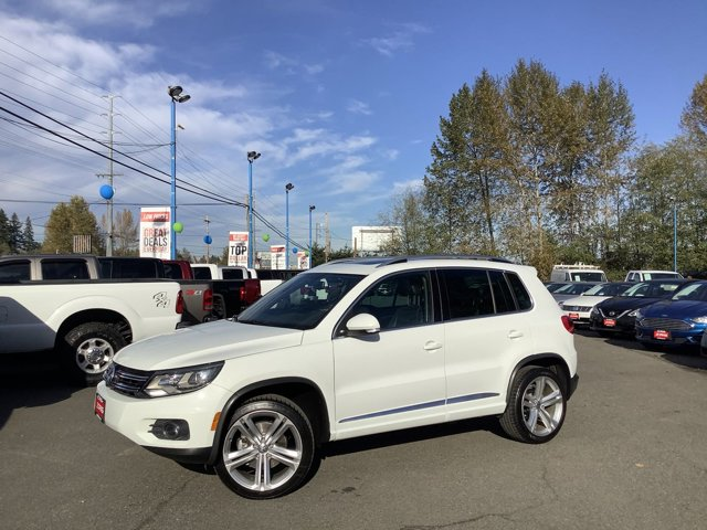 Used 2014 Volkswagen Tiguan 4MOTION 4dr Auto R-Line