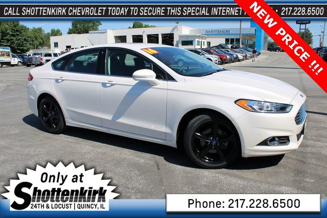 Used 2016 Ford Fusion in Quincy, IL