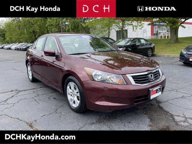 2008 Honda Accord Sedan LX-P