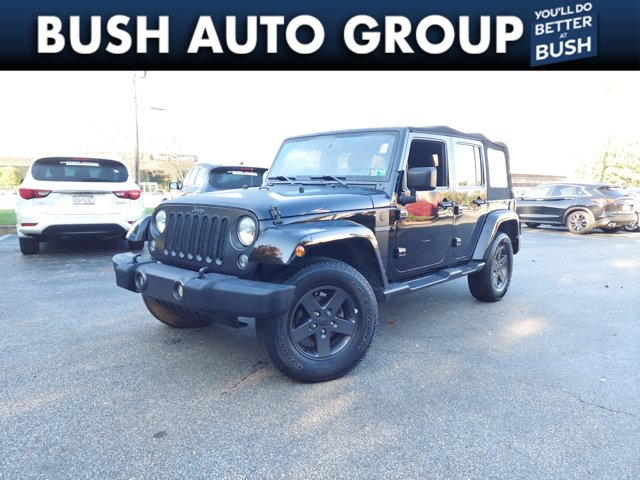 2016 Jeep Wrangler Unlimited Freedom 4WD 4dr Freedom *Ltd Avail* Regular Unleaded V-6 3.6 L/220 [4]