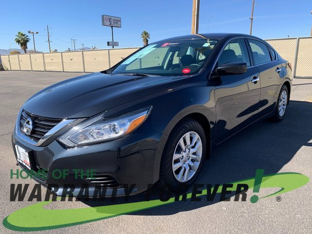 2018 Nissan Altima 2.5 S 2.5 S Sedan Regular Unleaded I-4 2.5 L/152 [2]