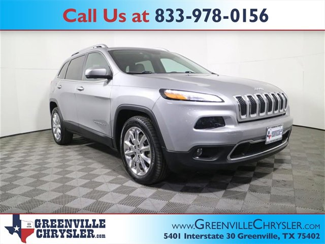 Used 2017 Jeep Cherokee in Greenville, TX