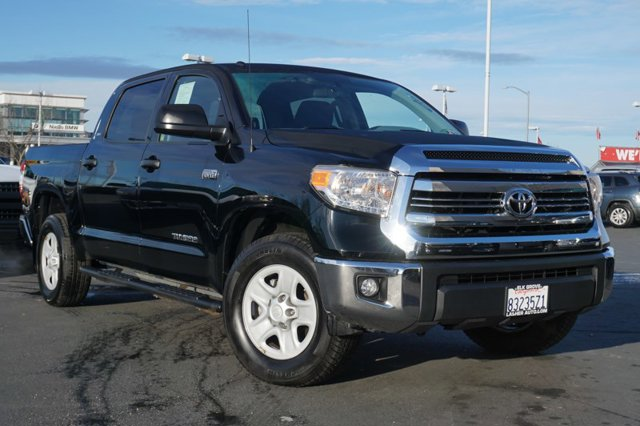 Used 2016 Toyota Tundra 2WD Truck CrewMax 5.7L V8 6-Spd AT SR5