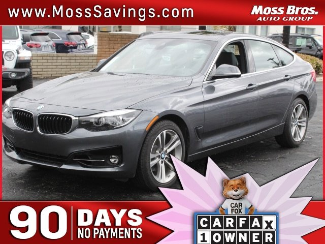2018 BMW 3 Series 330i xDrive 330i xDrive Gran Turismo Intercooled Turbo Premium Unleaded I-4 2.0 L/122 [9]