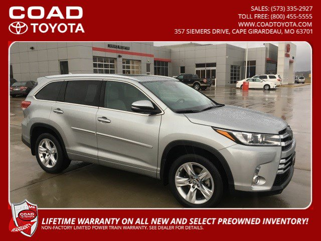Used 2017 Toyota Highlander in Cape Girardeau, MO