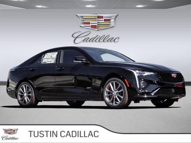 2020 Cadillac CT4 V-Series 4dr Sdn V-Series Turbocharged I4 2.7L/ [1]