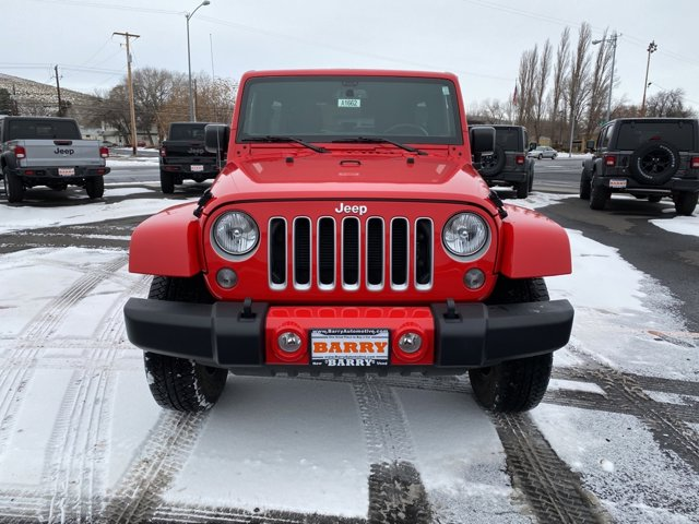Used 2018 Jeep Wrangler JK Unlimited Sahara 4x4