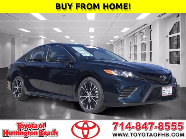 2018 Toyota Camry SE SE Auto Regular Unleaded I-4 2.5 L/152 [9]