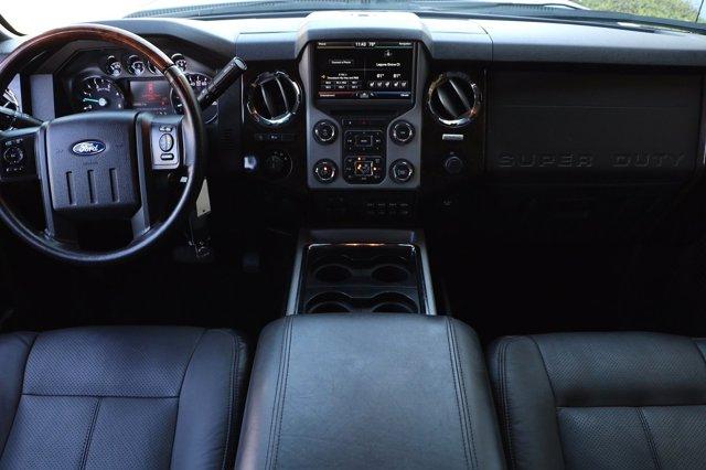 Used 2015 Ford Super Duty F-250 SRW Platinum Pickup 4D 6 3-4 ft