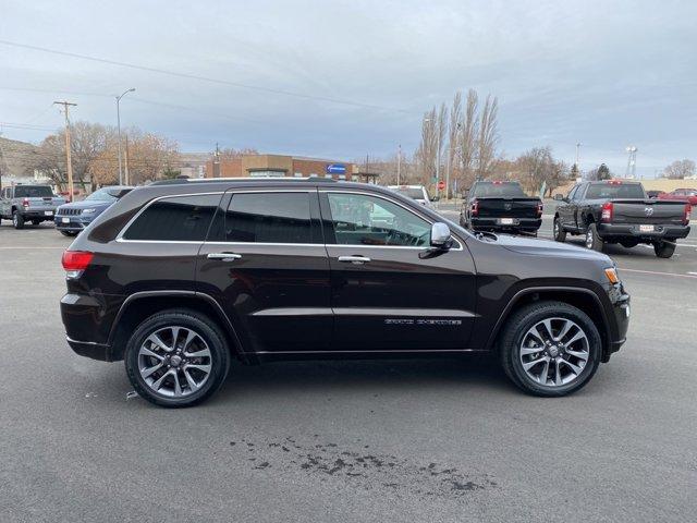 Used 2017 Jeep Grand Cherokee Overland 4x4