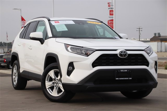 2020 Toyota RAV4 XLE XLE FWD Regular Unleaded I-4 2.5 L/152 [0]