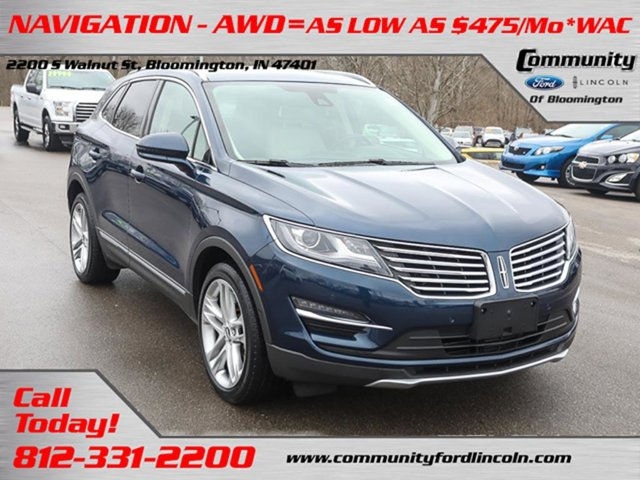 Used 2017 Lincoln MKC in Bloomington, IN