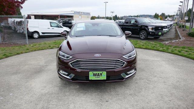 Used 2017 Ford Fusion Titanium AWD