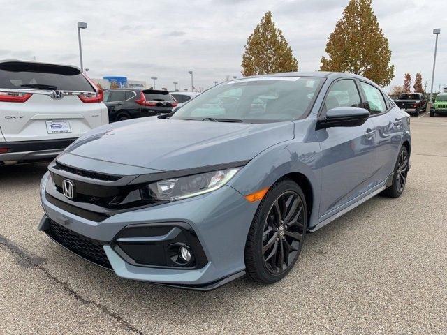 New 2020 Honda Civic Hatchback in Fishers, IN