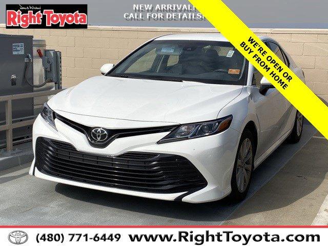 2018 Toyota Camry LE LE Auto Regular Unleaded I-4 2.5 L/152 [24]