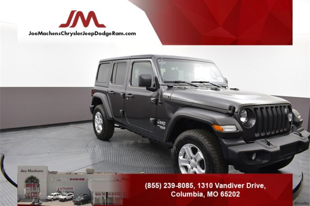 New 2020 Jeep Wrangler Unlimited in Columbia, MO
