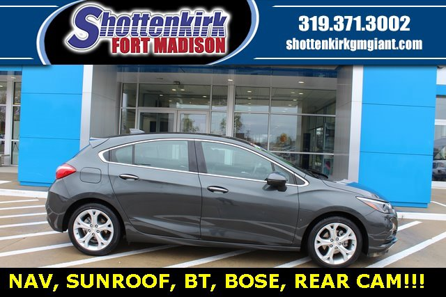 Used 2017 Chevrolet Cruze in Fort Madison, IA
