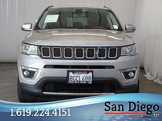 Used 2019 Jeep Compass Limited 4x4