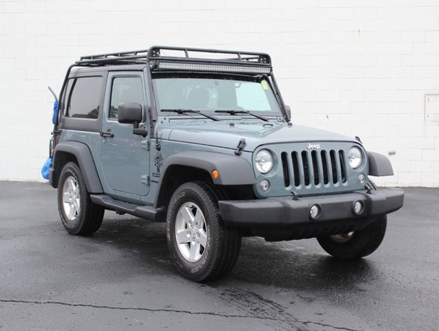 2015 Jeep Wrangler Sport TIRES P25575R17 OWL ONOFF ROAD QUICK ORDER PACKAGE 24S  -inc Engine