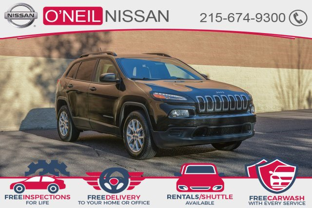 2017 Jeep Cherokee Sport Sport 4x4 Regular Unleaded I-4 2.4 L/144 [1]