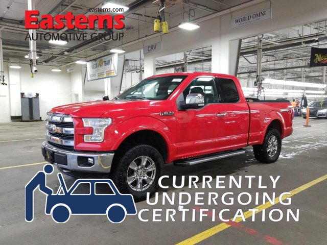 2016 Ford F-150 Lariat Extended Cab Pickup