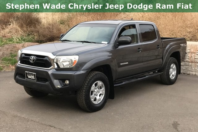Used 2015 Toyota Tacoma 2WD Double Cab V6 AT PreRunner
