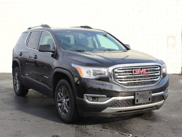 2018 GMC Acadia SLT EBONY TWILIGHT METALLIC TRANSMISSION  6-SPEED AUTOMATIC