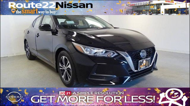 2020 Nissan Sentra SV SV CVT Regular Unleaded I-4 2.0 L/122 [17]