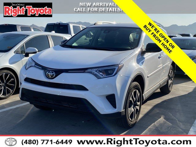 2018 Toyota RAV4 LE LE FWD Regular Unleaded I-4 2.5 L/152 [7]